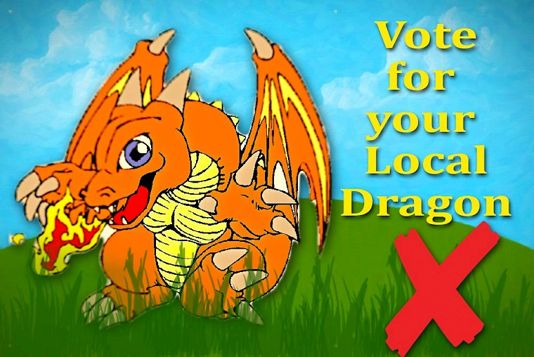 Vote for your Local Dragon