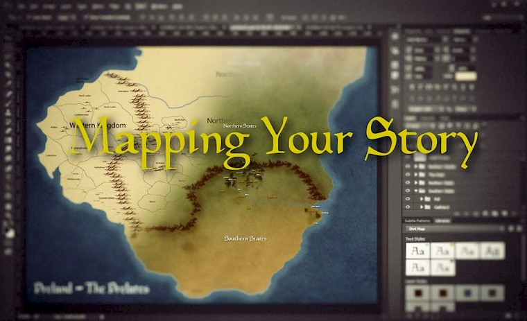 Mapping your Fantasy Story