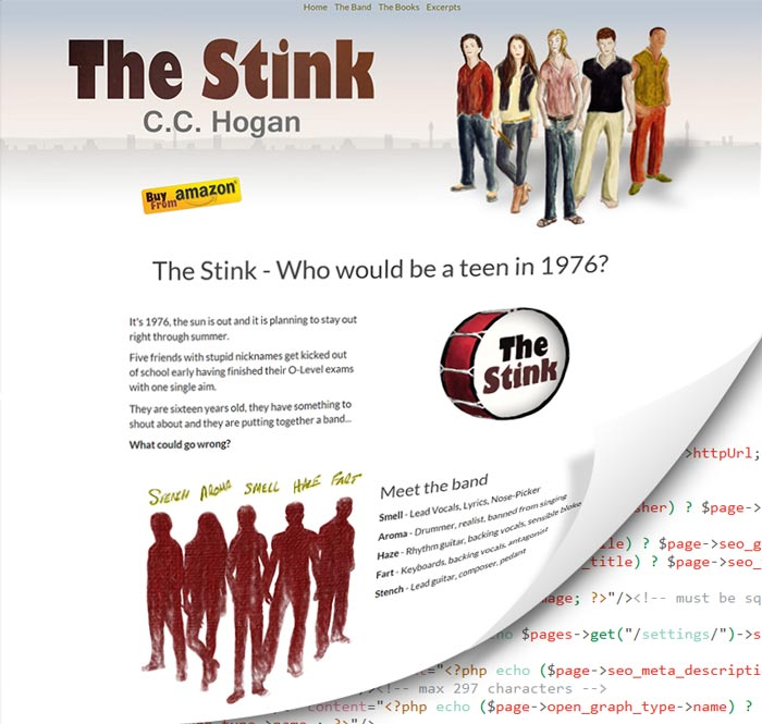 The Stink draft website