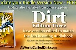 Dirt Re-Released in advance of Audio Book
