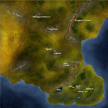 Map of Ferenland